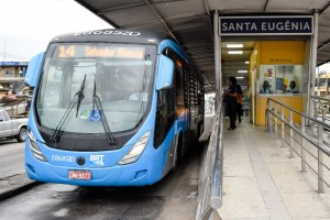 BRT Rio reabre estação Santa Eugênia e inaugura serviço semidireto Campo Grande x Salvador Allende