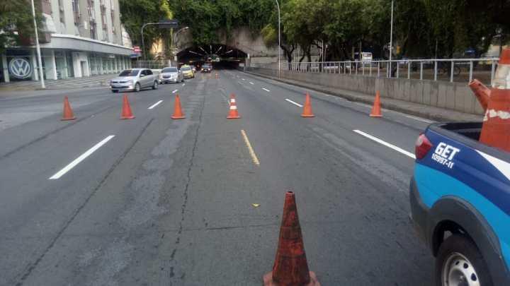 Faixas reversíveis das principais vias da cidade terão esquema especial de funcionamento no carnaval do Rio