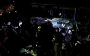 Acidente com ônibus da Trans Brasil deixa 3 mortos e dezenas de feridos na BR-153 em Porangatu