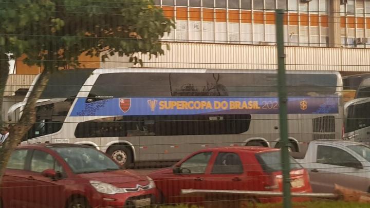 DF: Flamengo terá ônibus DD personalizado para jogo em Brasília neste domingo 16