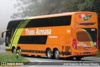 Ônibus da Trans Acreana é flagrado fazendo a linha Rio x São Paulo e São Paulo x Rio