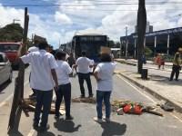 Recife: Protesto nesta manhã complica o trânsito na Avenida Caxangá