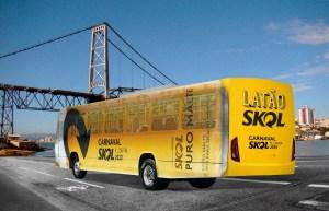 SC: Ônibus da SKOL Puro Malte leva foliões para curtir o Carnaval de Florianópolis de graça