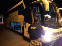 SP: PRF apreende estuprador foragido durante fiscalização em ônibus da Kaissara na BR-116