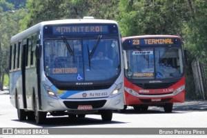RJ: Niterói e São Gonçalo seguem com apenas 20% da frota de ônibus circulando por conta do coronavírus