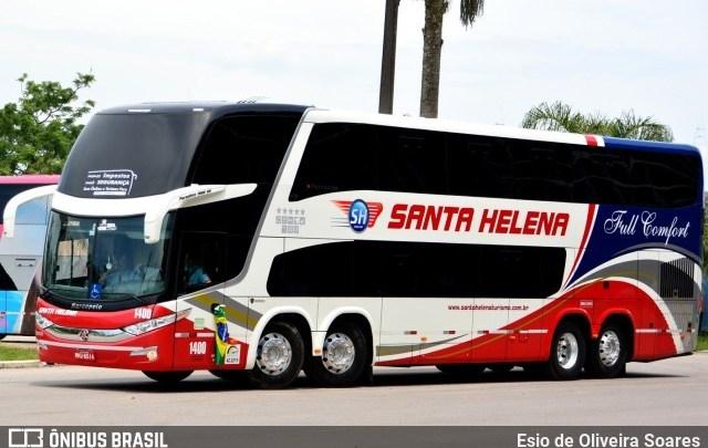 SC: Ônibus de turismo vindo da Bahia é escoltado na chegada a Chapecó