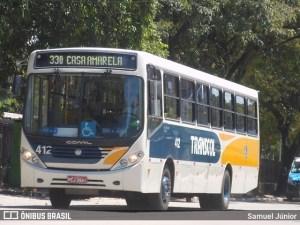 Recife: Rodoviários realizam protesto contra demissões e redução de salários