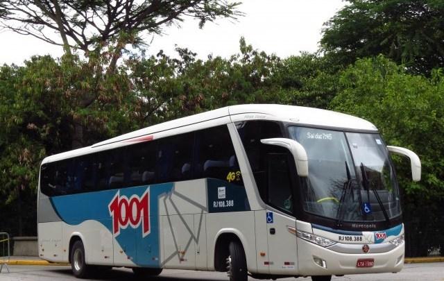 RJ: Briga a bordo de ônibus da 1001 atrasa viagem entre Cabo Frio e Nova Iguaçu