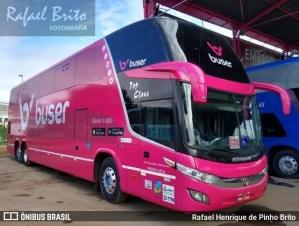 Ônibus da Buser é apreendido durante fiscalização da ANTT em Uberlândia