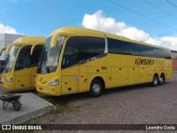 Viação Kaissara surge com dois ônibus Irizar i6 390 Volvo amarelos