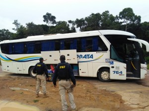 PA: Homem é preso durante fiscalização da PRF na BR-163