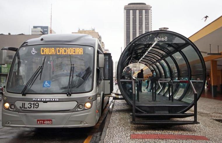 Homem é preso após ameaçar explodir ônibus na Região Metropolitana de Curitiba
