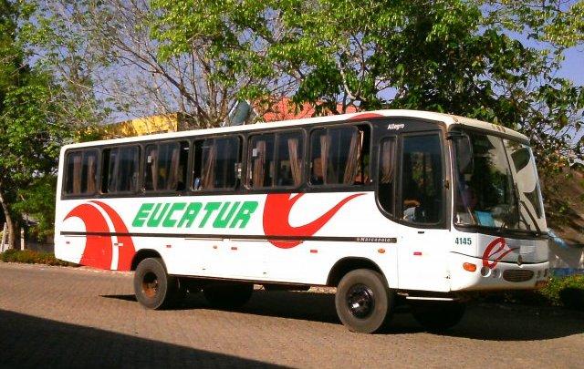 Eucatur tem ônibus apreendido no interior do Mato Grosso nesta terça-feira