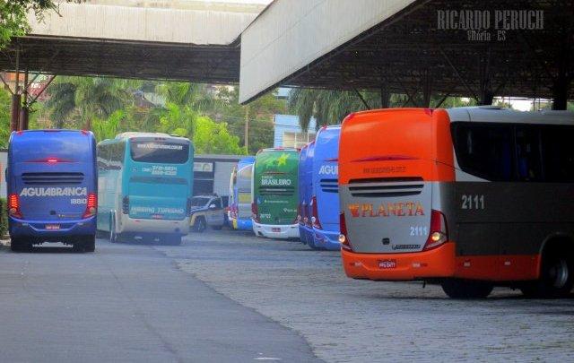 Rodoviária de Vitória ganha  barreira sanitária para evitar avanço do coronavírus