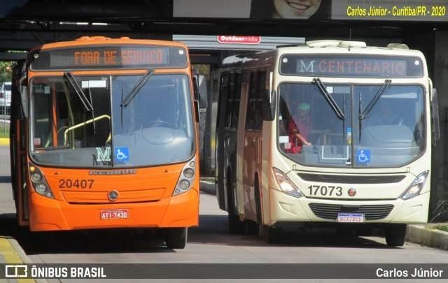 Empresas de ônibus de Curitiba e Região Metropolitana estão pagando metade do salários dos rodoviários