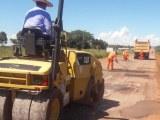 DNIT executa serviços de manutenção na BR-158/GO