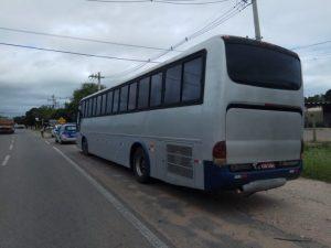 Polícia Militar apreende mais um ônibus pirata no interior da Bahia