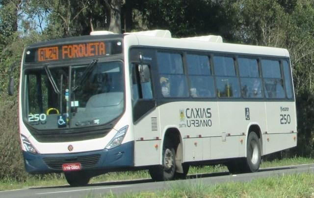 RS: Ônibus urbanos de Caxias do Sul só rodam até às 22h, afirma a prefeitura
