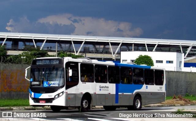 SP: Prefeitura de Guarulhos distribui máscaras a passageiros de ônibus