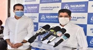 Salvador: ACM Neto determina que população use máscaras no carro, no trabalho e no transporte público