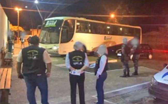 PI: Polícia Militar apreende dois ônibus em São Raimundo Nonato com apoio da ANTT