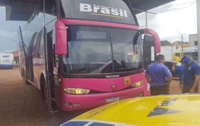 ANTT apreende ônibus da TransBrasil no interior do Maranhão que seguia para SP