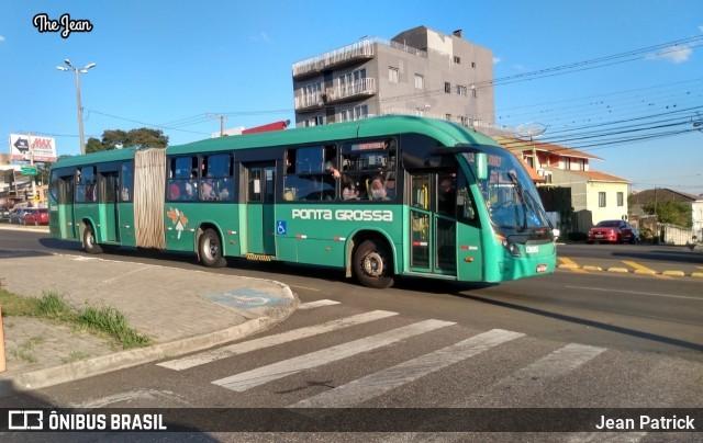 PR: Ônibus operam com  frota reduzida nesta segunda-feira em Ponta Grossa