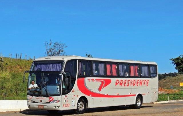 Ônibus da Viação Presidente é impedido de entrar em Belo Horizonte na tarde desta quarta-feira