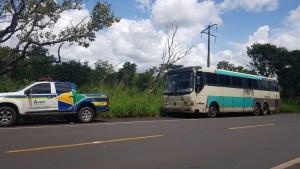 ANTT apreende Ônibus sucata no interior do Maranhão