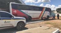 CE: ANTT apreende ônibus pirata com várias irregularidades na BR-116