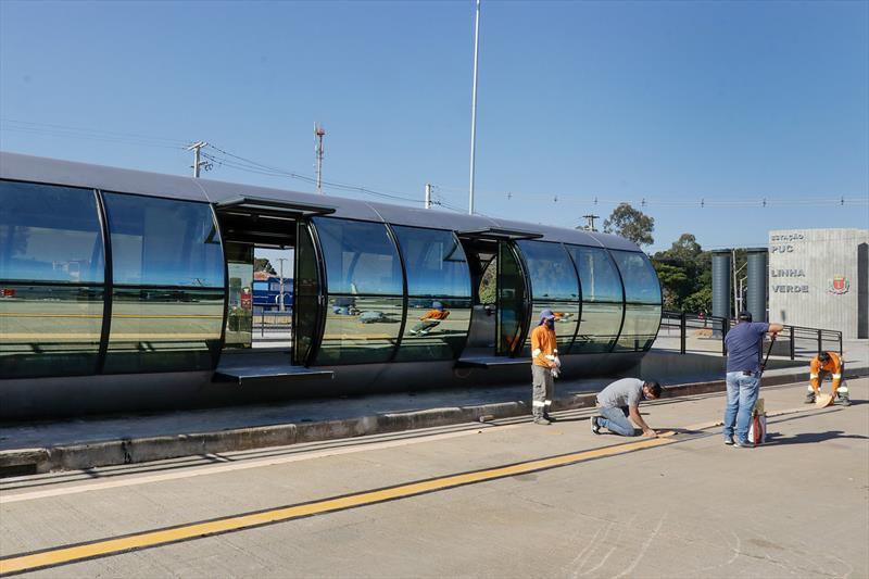 Curitiba: Estação PUC-Linha Verde começa a operar nesta sexta-feira