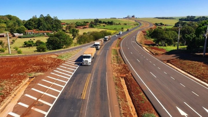 PR: BR-163 terá mais oito quilômetros de pista duplicada a partir desta semana