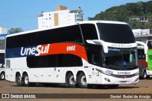 Chapecó: Ônibus da Unesul são autuados pela PM por descumprir decreto do governo de SC