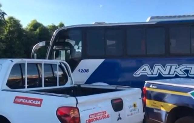 Fiscalização da ANTT apreende dois ônibus no Sul do Piauí