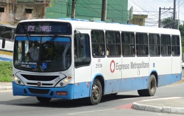 Salvador: Agerba fiscaliza higienização de ônibus metropolitanos da capital
