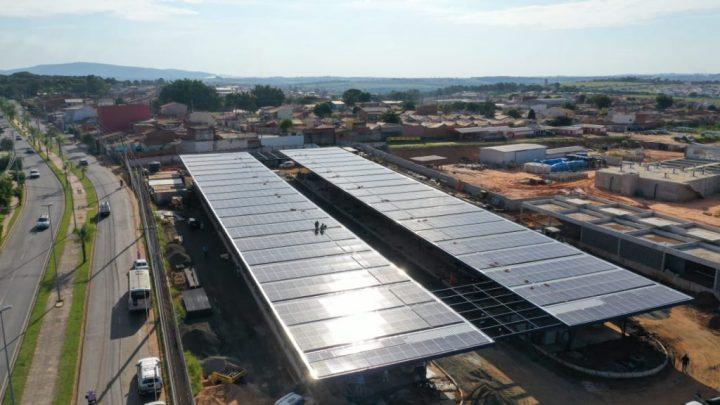Sorocaba: Terminal Vitória Régia adota energia solar