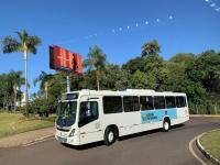 RS: Lajeado apresenta frota de ônibus que farão o transporte público urbano