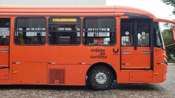 Profissionais de Saúde de Curitiba terão linha especial de ônibus