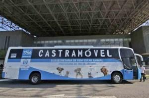 Prefeitura do Rio inaugura Ônibus Castramóvel