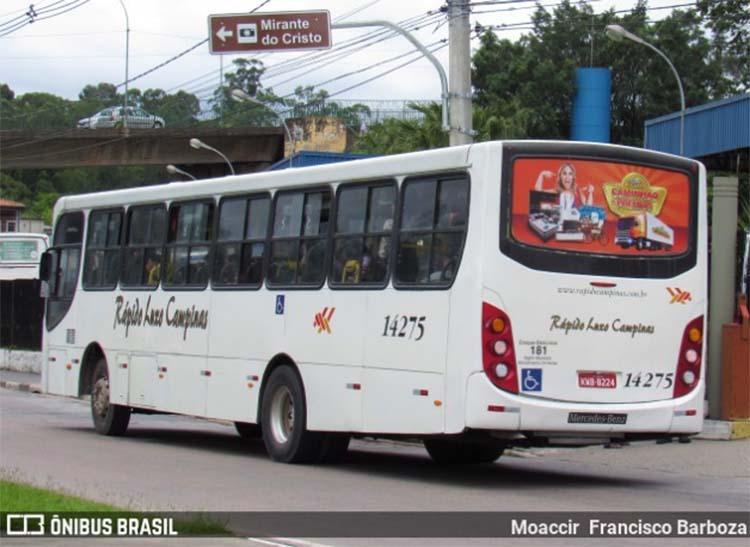 SP: Motorista de ônibus acaba baleado em Campo Limpo Paulista na manhã desta sexta-feira