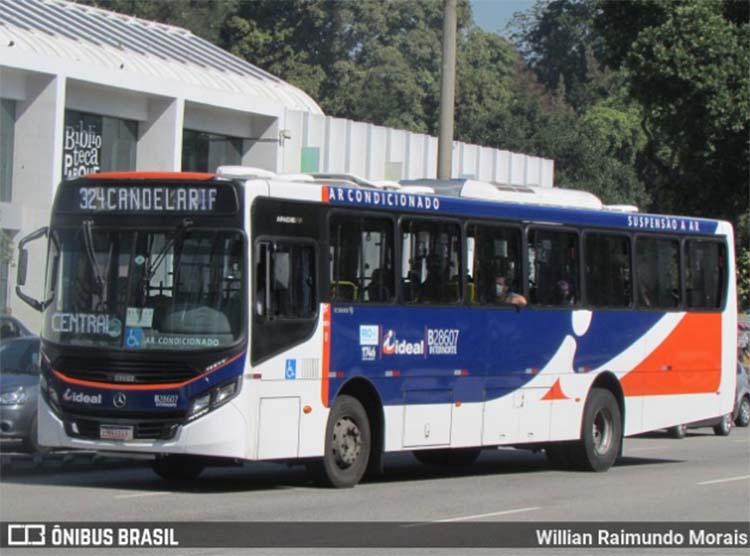 Prefeitura do Rio determina que ônibus não podem ter mais de dois passageiros por metro quadrado
