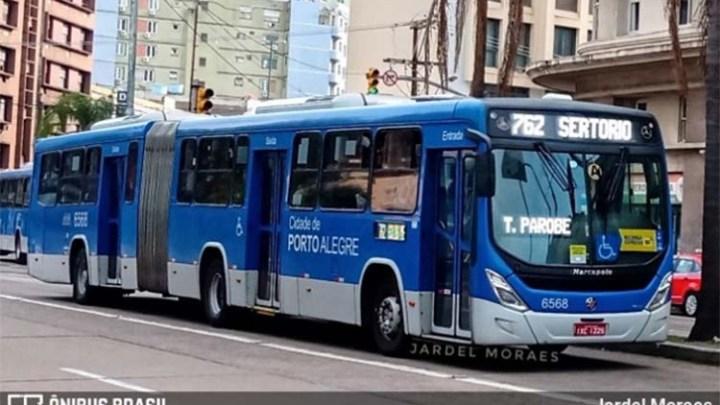 Porto Alegre: Ônibus só poderão circular com passageiros sentados a partir desta quarta-feira