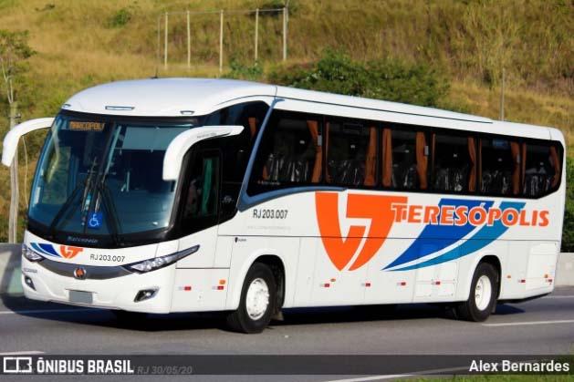 RJ: Viação Teresópolis retoma sua operação intermunicipal