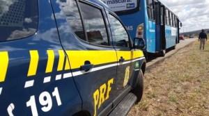 Vídeo: PRF flagra motorista de ônibus embriagado na BR-070 no Distrito Federal