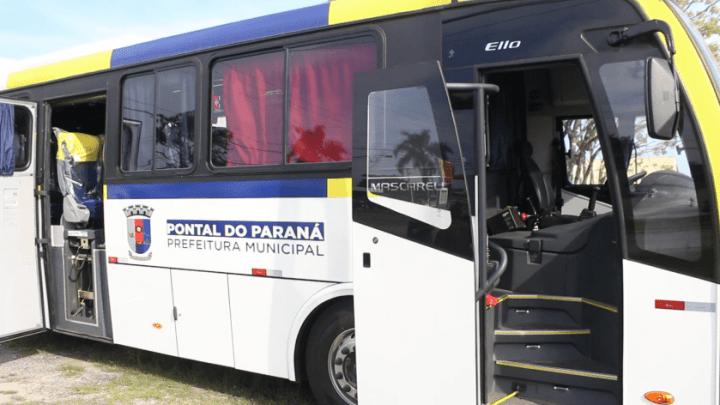 PR: Pontal do Paraná adquire van e três novos ônibus