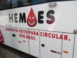ES: Ônibus do Hemoes percorre municípios em busca de doações durante a pandemia de Covid-19