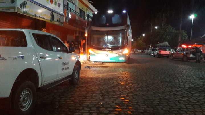 PB: Polícia Militar apreende passageiro de ônibus com 9 kg de entorpecentes