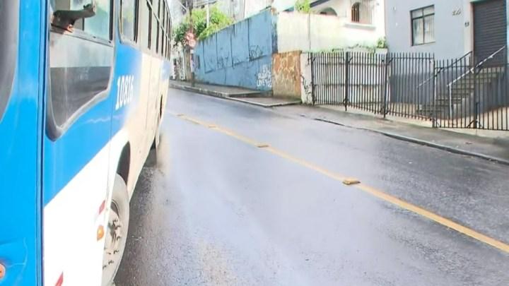 Salvador: Acidente com ônibus chama atenção no bairro do Canela