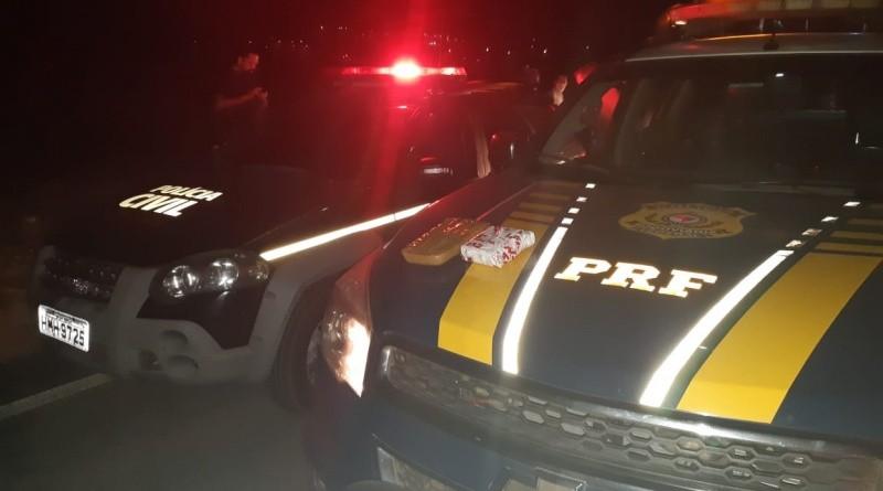 MG: PRF e Polícia Civil apreendem entorpecentes em ônibus em Juatuba