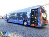 São Paulo ganha ônibus adesivados para homenagear a Semana do Rock